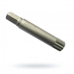 Bit 10mm Spline M12 krótki...