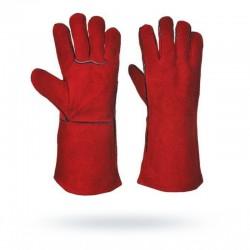 Rękawice spawalnicze czerwone