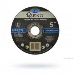 Tarcza metal 125x2 Geko...