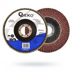 Tarcza listkowa Geko 125 gr.80