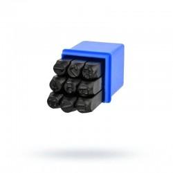 Numeratory cyfry 8mm Geko